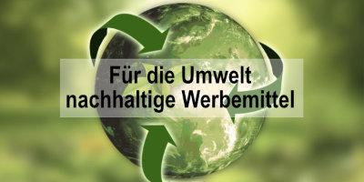 Werbeartikel Lukrateam fuer die Umwelt