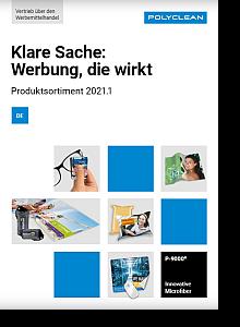 Werbeartikel Lukrateam Katalog polyclean 2021