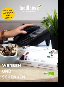 Werbeartikel Lukrateam Katalog foodloose 2021